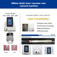 980nm vascular vein removal machine-Erect version
