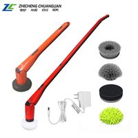 Multi purpose bathroom and toilet cleaning brush soft polisher car waxer floor sweeper electric mop