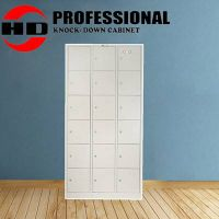 Metal clothes cabinet with 18 doors thumbnail image