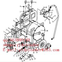 SDLG Wheel Loader part Gearbox Assembly 29050000021 29050011311 29050012191 29050012811 29050012861