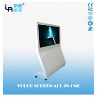 LASVD 55 inch Android L-Type Vertical Infrared Touch Screen All-in-one PC