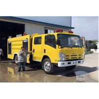 Isuzu ELF 3m3 water and 1m3 foam Foam Fire Engine for Sales thumbnail image