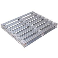 Steel transport packing pallet