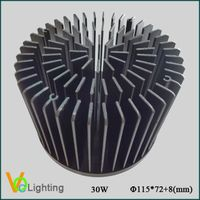 Aluminum Cold Forging LED Heatsink VOC-CF001