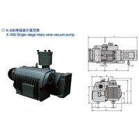 X-630 Single Stage Rotary Vane Vacuum Pumps