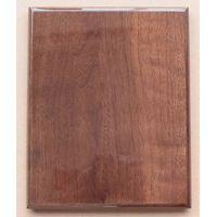 walnut high gloss finish awards plaque thumbnail image