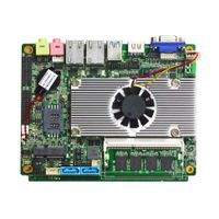 Mini 3.5inch 1037U Celeron Motherboard with onboard 4GB Ram
