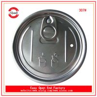 307# 83.3mm aluminum dry food can easy open end manufacturer