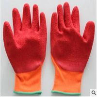 CL-5  Dipped latex cotton gloves