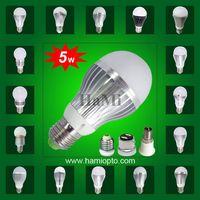 Led bulb lights 5W