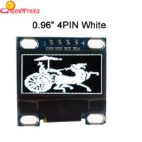 "0.96"" OLED display, 4P interface IIC i2c 128*64 pixels, white color"