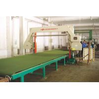 Horizontal Foam Mesh-belt Cutting Machine(with vacuum)