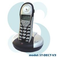 DECT WIRELESS PSTN / SKYPE 2-IN-1 Phone W/ LCD Display ST-DECT-V3 thumbnail image