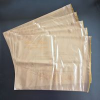 Custom PE CPE packaging bag with zipper for clothing thumbnail image