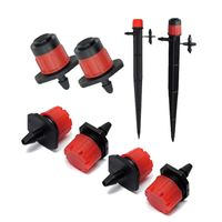 Adjustable Dripper  Drip line with flat dripper  Drip Irrigation Accessories supplier