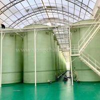 Glass Fiber Reinforced Plastic Brewing Food Tank FRP Brewing Food Tank acid storage tank