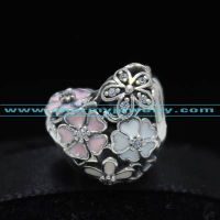 Fits Pandora Bracelet 2016 Spring Collection Poetic Blooms Charm