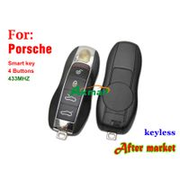 Auto keyless 433MHZ 4 buttons for Porsche smart remote key