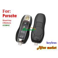 Auto keyless 433MHZ 4 buttons for Porsche smart remote key thumbnail image