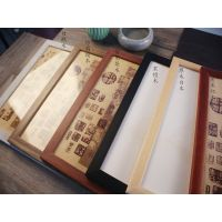 xuan paper painting calligraphy frame 65/ 33.5 cm