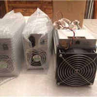 2018 Bitmain Antminer S9 with power supply available thumbnail image