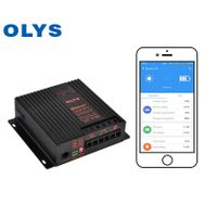 Bluetooth APP solar controller, intelligent car battery charging controller