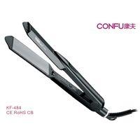 CONFU KF-484Professional hair straighenter titanium coating plate PTC