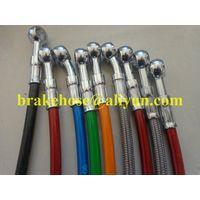 stainless steel braided brake hose thumbnail image