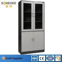 laboratory and library used metal file cabinet steel glass door cabinet filing cabinet