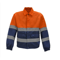 Polyester Cotton Workwear Shirt for Plain and Contrast Color