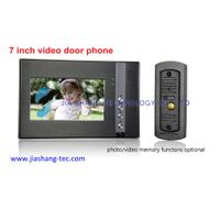 7inch color video door phone