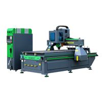 Woodworking equipment factory with wood cnc router