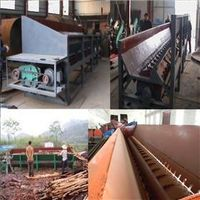 High efficience groove wood peeling machine for industry
