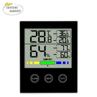 Newest temperature humidity meter with max min value digital thermohygrograph thermo-hygrometer