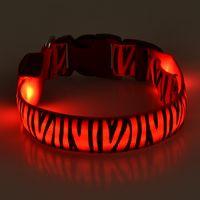 Screen printing logo dog collar LED flashing factory dog collar with 7 luminous colors pet products thumbnail image