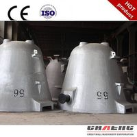 Customized large steel casting slag pot