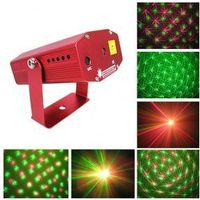 home decoration YX with Green Red Laser Star light
