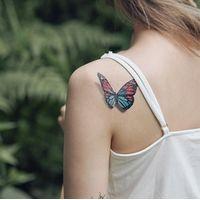 Tattoo, tattoo sticker , water Color, temporary tattoo, globar Tattooist thumbnail image