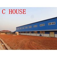 wwarehous/workshops/light steel house /prefab house thumbnail image
