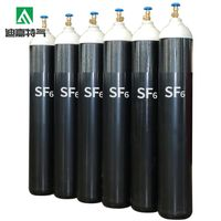Colorless, tasteless, non-flammable 99.9% high purity sulfur hexafluoride gas(SF6)