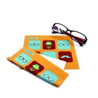 microfiber pouch and cloth/sunglasses pouch/eyeglasses pouch/small soft pouch
