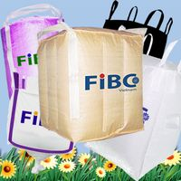 Fibc bag, bulk bag, big bag, jumbo bag, container bag, super sack in vietnam