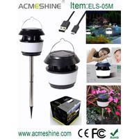 Ultra Bright Led Solar Garden Lamp with Mosquito Repellent thumbnail image
