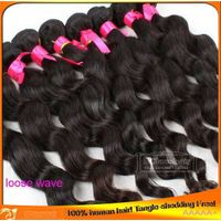 Wholesale Indian Brazilian Virgin Human Hair Weave Wefts for Black Women