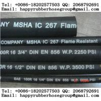 Steel Wire Braided Reinforced Hydraulic Rubber Hose (SAE-R16) thumbnail image