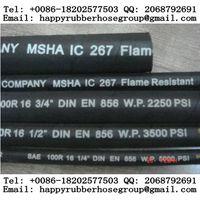 Steel Wire Braided Reinforced Hydraulic Rubber Hose (SAE-R16)