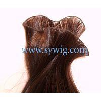 hand tied hair weft/hair weaving/hair wave thumbnail image