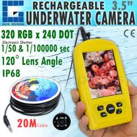 FF-3308-8 Rechargeable Underwater Fish Inspection Camera 3.5 Monitor thumbnail image