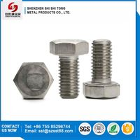 Hexagon Flat Head Machine Screw