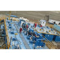 Drilling mud solids control equipment